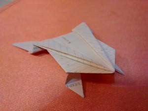 """Оригами """"Скачаща жаба"""""""